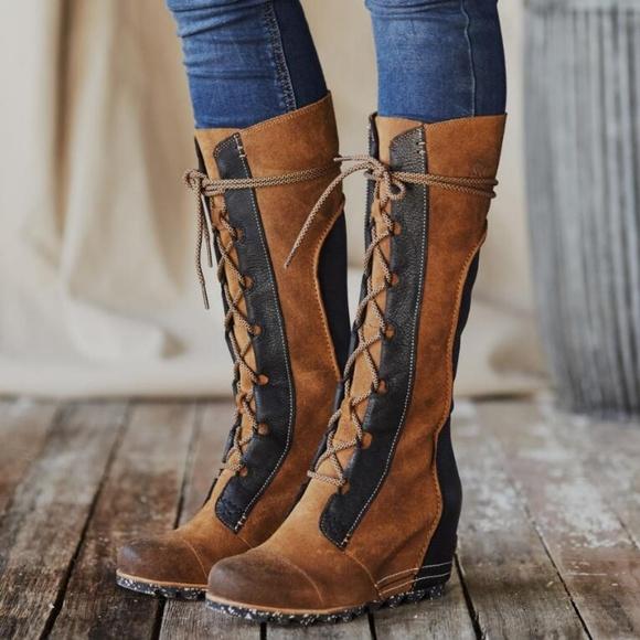 8509bb5ae9e Bnib Sorel Cate the Great Wedge Boots sz 10